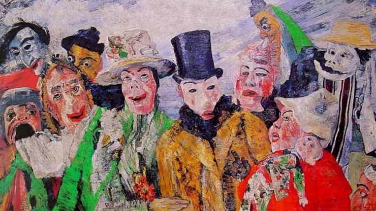I'm Mad, I'm Foolish, I'm Nasty: A Self-Portrait of James Ensor