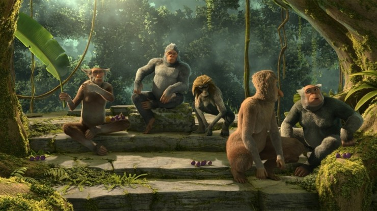 Evolution Man - Monkey Business