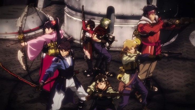 Kabaneri of The Iron Fortress: The Series