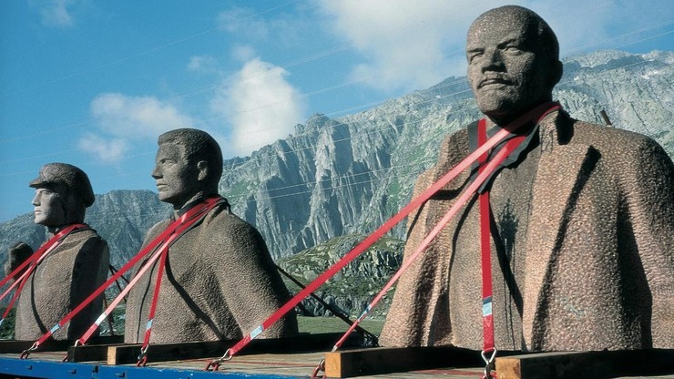 Szeemann and Lenin Crossing the Alps
