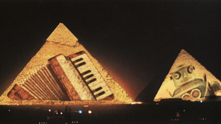 Jean Michel Jarre at the Pyramids
