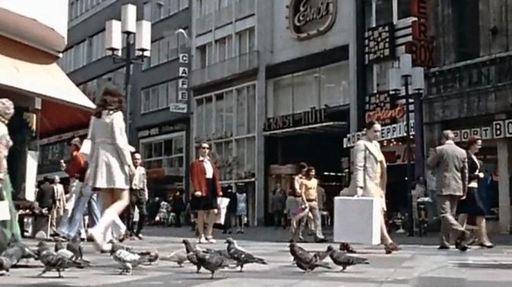 City Center and Pedestrians
