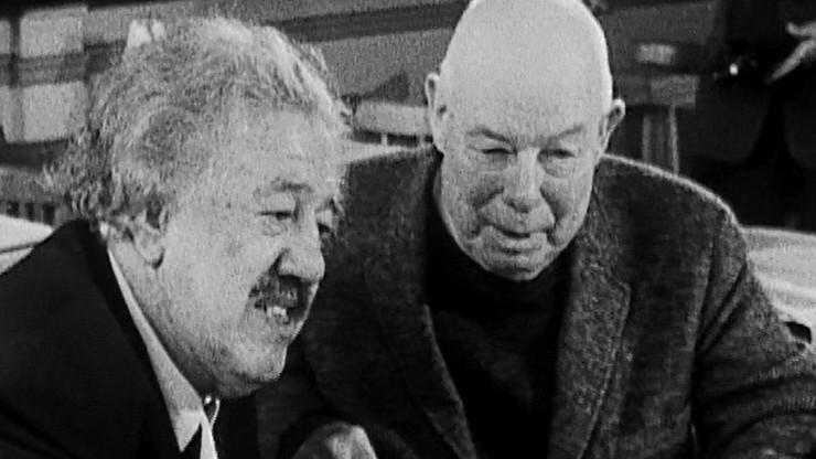 Cinéastes de notre temps: Portrait de Michel Simon par Jean Renoir ou Portrait de Jean Renoir par...