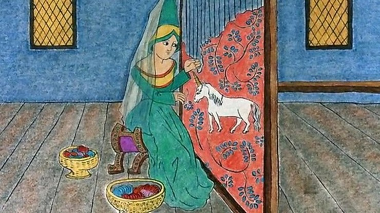 Illuminated Lives: A Brief History of Women's Work in the Middle Ages