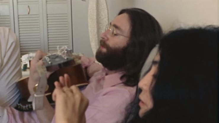 Oh Yoko!: John Lennon & Yoko Ono, Sheraton Oceanus Hotel, Freeport, Bahamas, 25 May 1969
