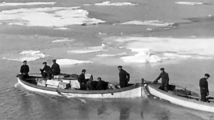 Men Against the Ice
