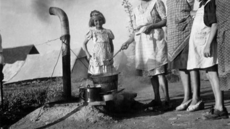Children from Petricek Hill