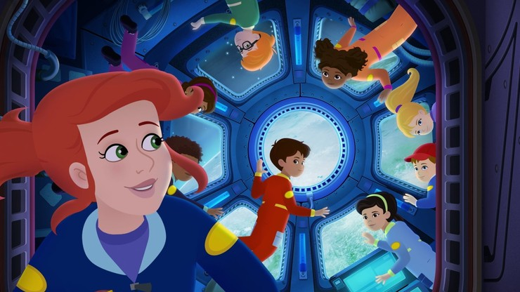 The Magic School Bus Rides Again: Kids in Space