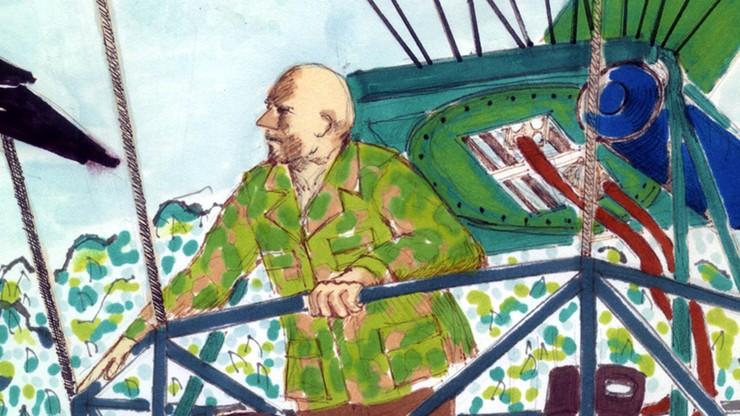 Otis Barton & his Spaceship of the Jungle