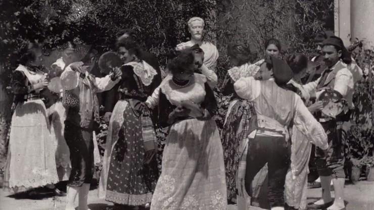The Tarantella, an Italian Dance