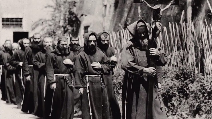 Procession of Capuchin Monks, Rome