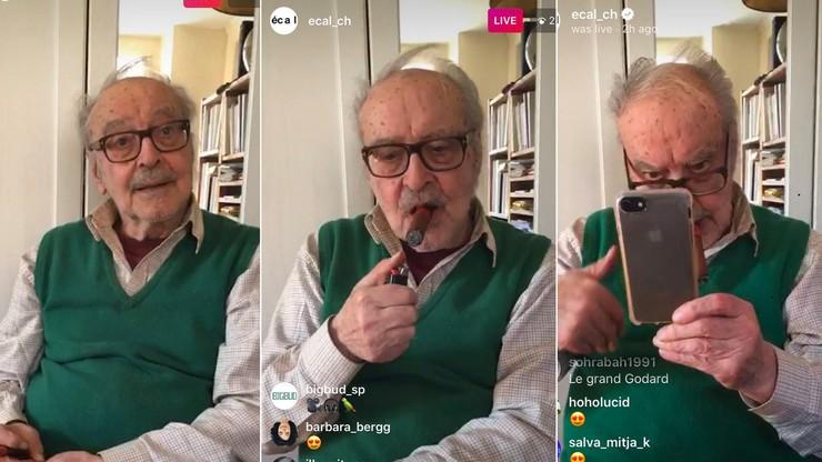 ECAL Instagram Live: Jean-Luc Godard, cinéaste