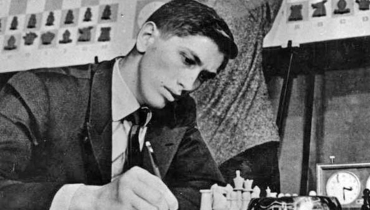 Me and Bobby Fischer