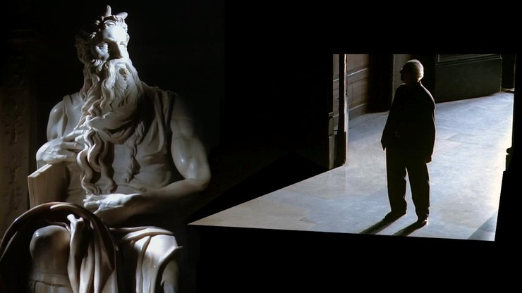 Lo sguardo di Michelangelo