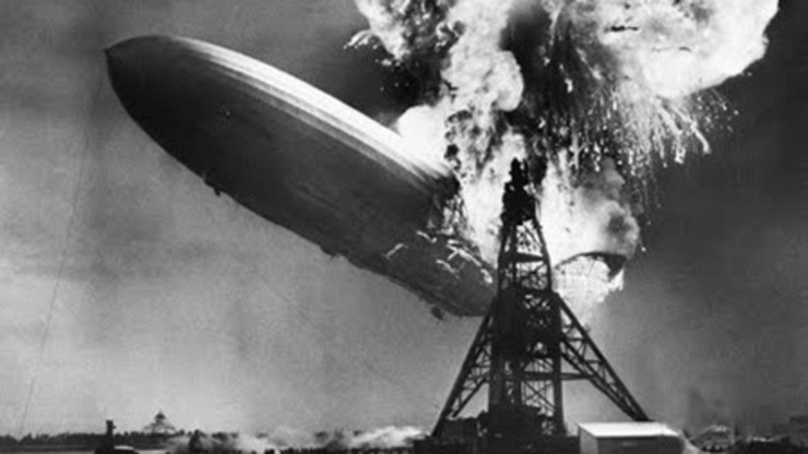 Hindenburg Disaster Newsreel Footage