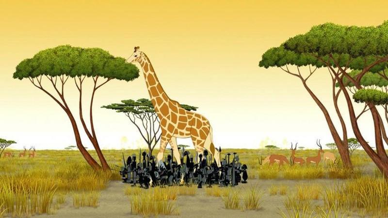 Kirikou y las bestias salvajes