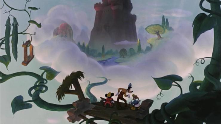 Micky und die Kletterbohne