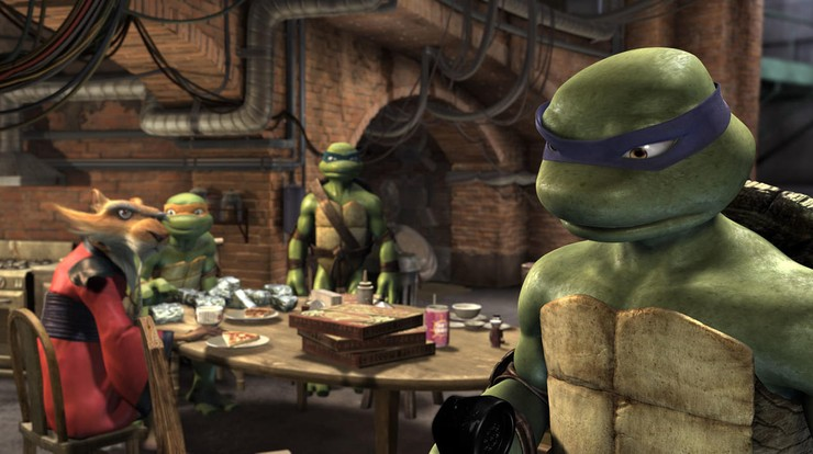 TMNT - Tortugas ninja jóvenes mutantes