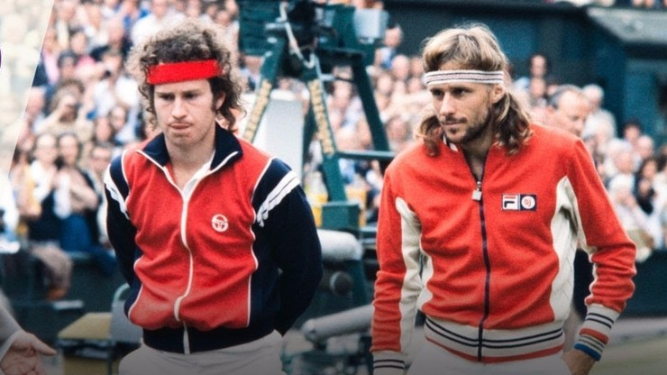Wimbledon 1980 Final: Borg vs. McEnroe
