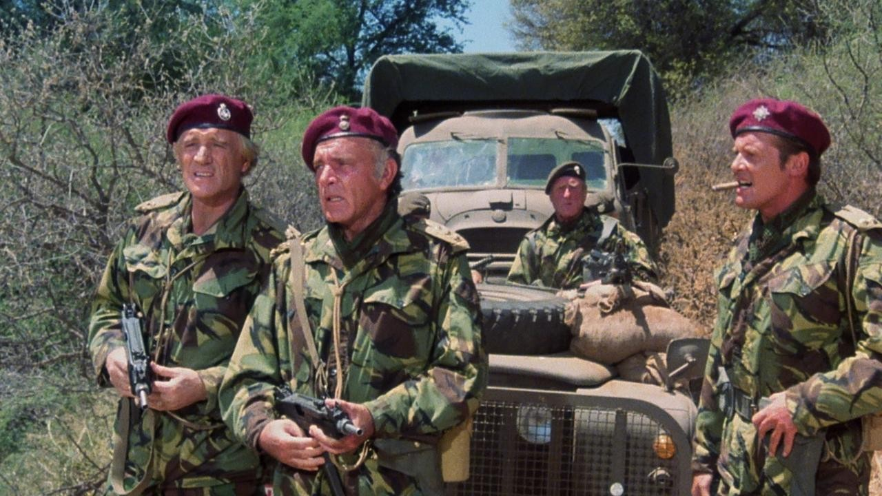 The Wild Geese (1978) – Action, Drama, Adventure