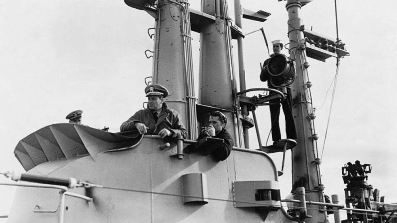 War Movie : Submarine Command 1951