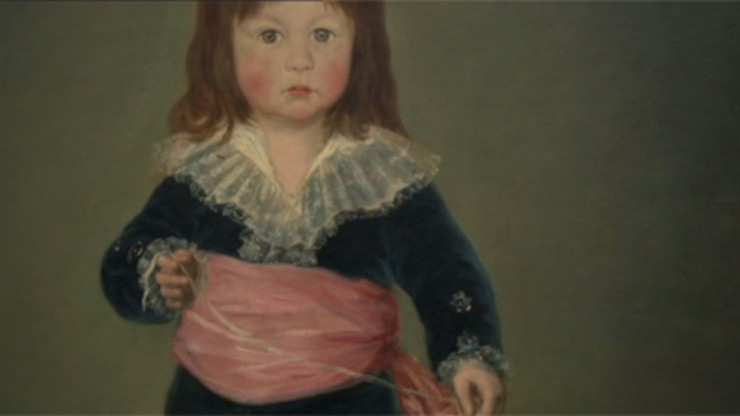 Yves Saint Laurent Featurette 6: Francisco Goya's Portrait 'Luis Maria de Cistue y Martinez' Goes into the Louvre
