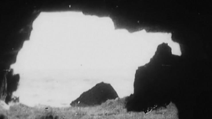 A Sea Cave Near Lisbon