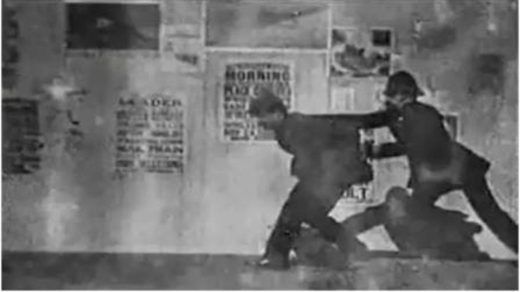 The Arrest of a Pickpocket