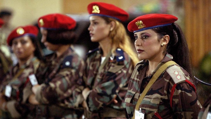 Shadows of a Leader: Qaddafi's Female Bodyguards