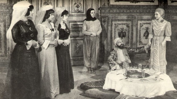 Four Women in the Harem