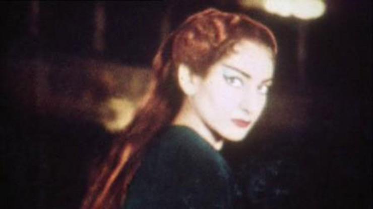 Maria Callas Porträt